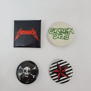 Punk Rock Buttons